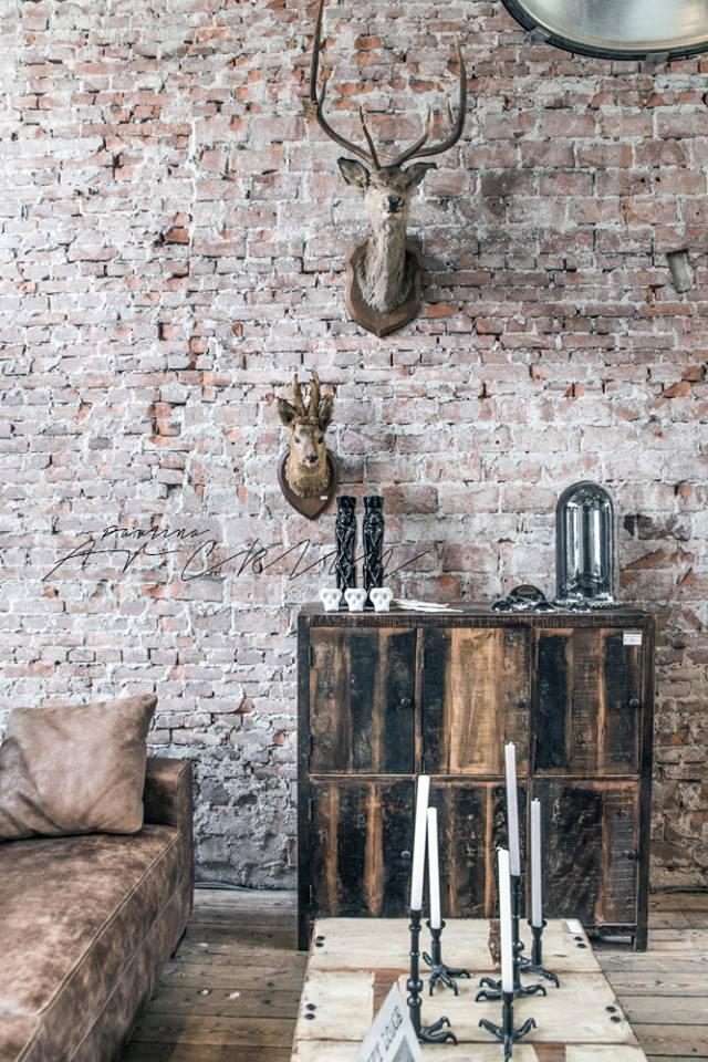Como decorar tu casa estilo industrial antigua madera for Como decorar una casa antigua