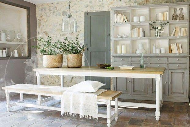 Como decorar estilo provenzal antigua madera - Decoracion estilo provenzal ...