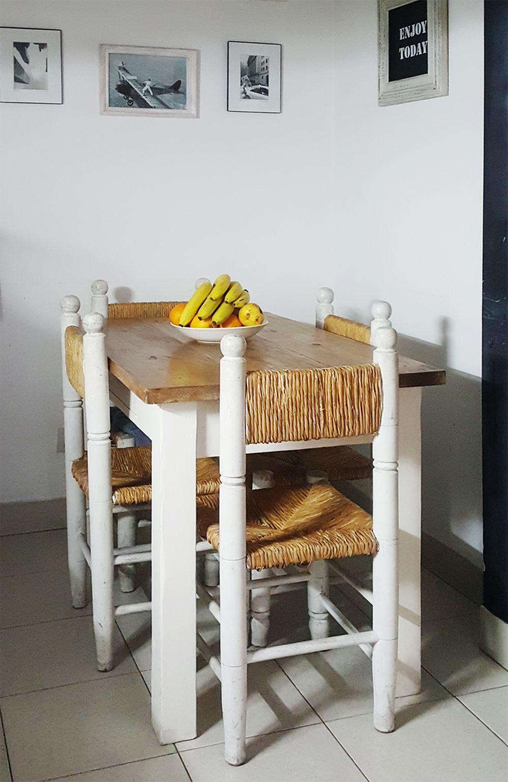 Isla de cocina antigua madera antigua madera - Mesa cocina rustica ...