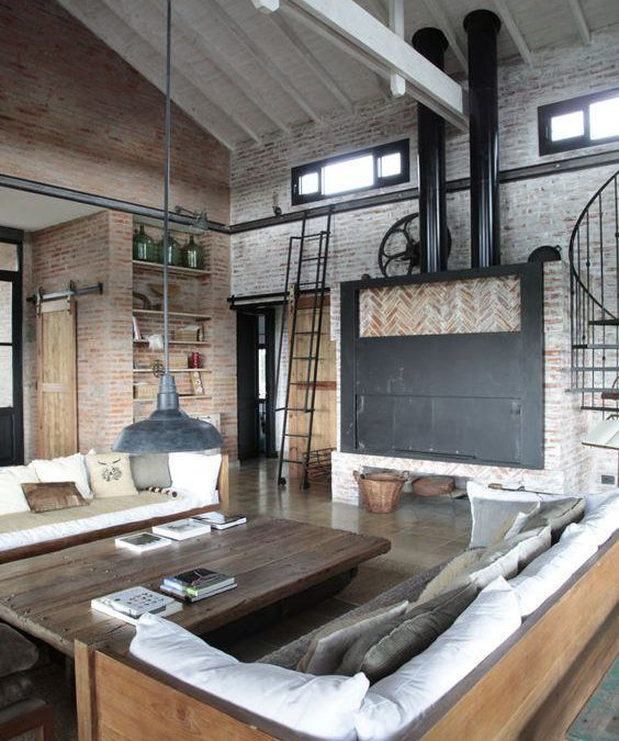 Tips Para Decorar Estilo Industrial | Antigua Madera