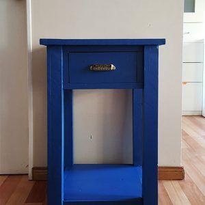 Mesa de luz 1 cajón y estante