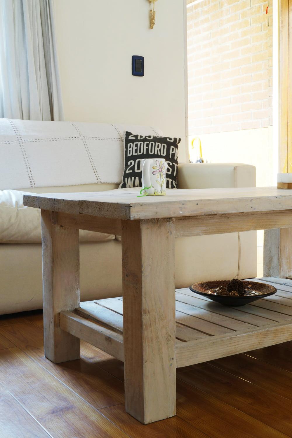 Mesa ratona deck antigua madera - Patas torneadas de madera ...