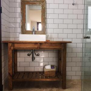 Vanitory toallero y deck