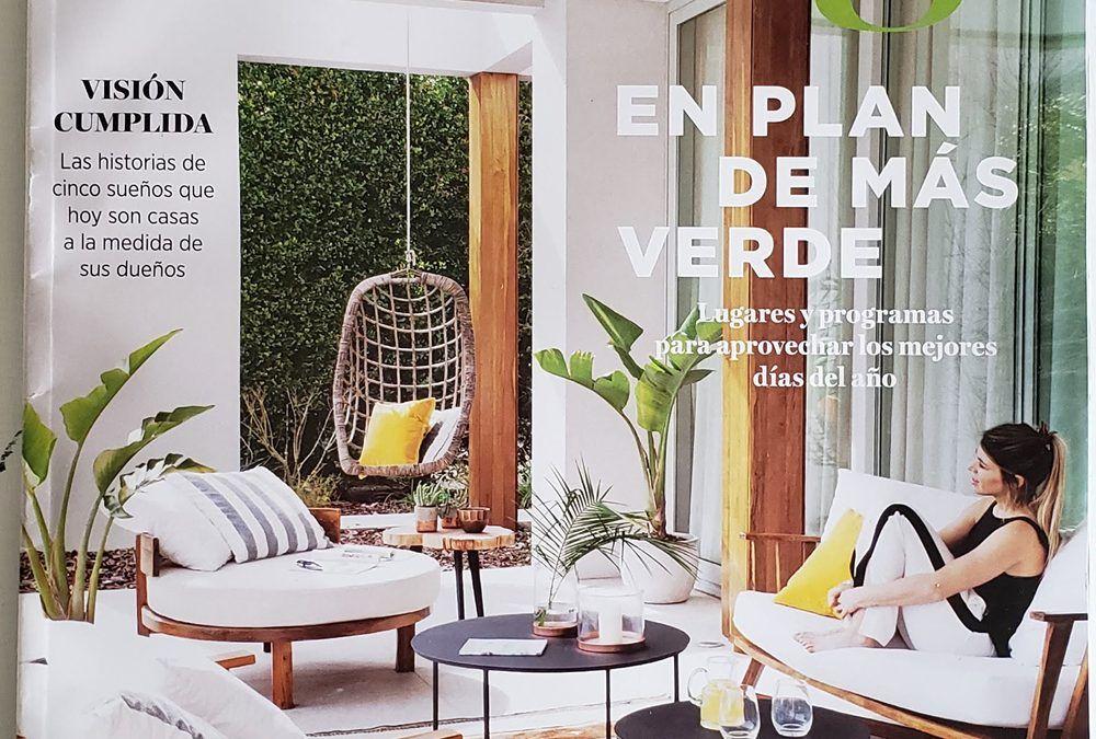 Revista Living Julio 2018   Antigua Madera
