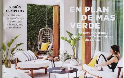 Revista Living Julio 2018 | Antigua Madera
